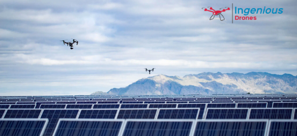 Aerial Mapping for Solar Panel Inspection and Installation