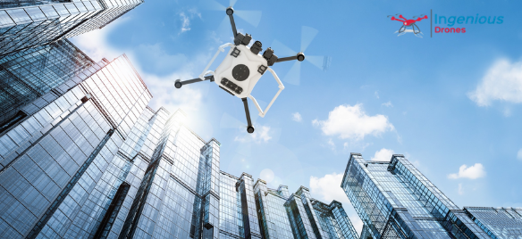 What are the benefits of using drones as a building owner?